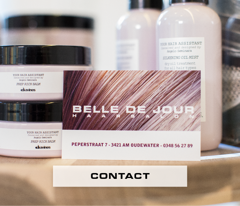 De contactgegevens van Belle de jour Haarsallon